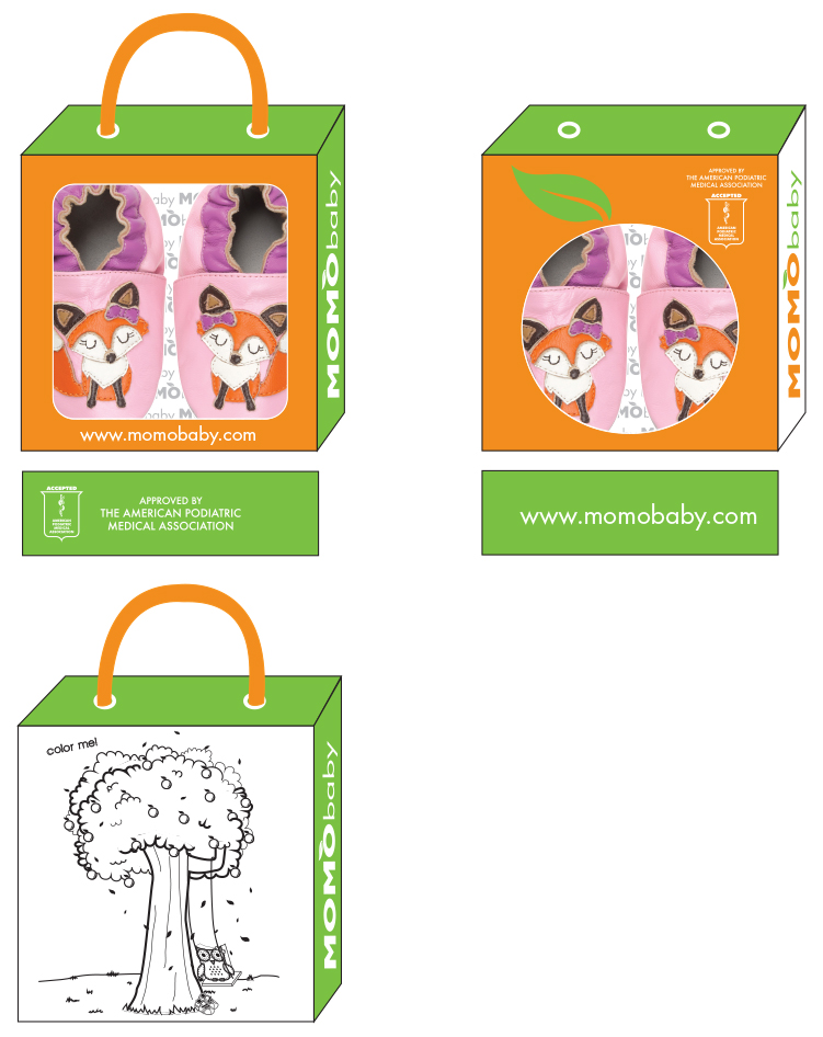 MomoBaby Soft Sole Packaging