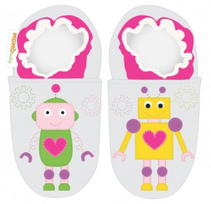 Soft Sole 16_Silver Girl Robot